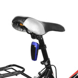 Automatically 10-LED Fast Strobe Bike Taillight Red Light - Blue (FSLV)