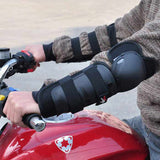 Pro-Biker Outdoor Cycling Protective Kneepads Elbowpads - Black (FSLV)