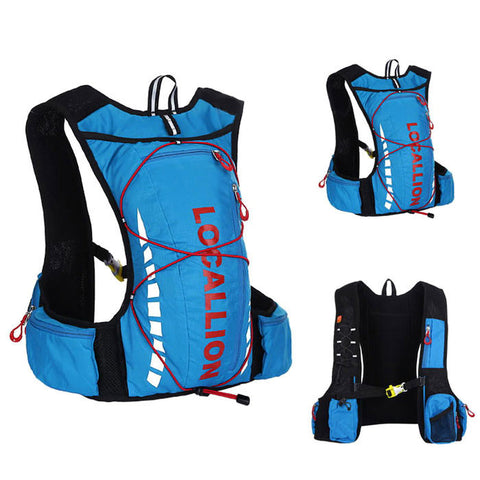 LOCAL LION Cycling Backpack - Blue + Red (20~25L) (FSLV)