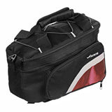 ACACIA Extendable Outdoor Cycling Bike Pannier Bag - Black + Red (FSLV)