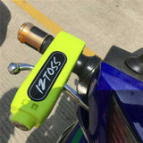 Motorcycle Scooter Throttle Handle Lock - Yellowish Green