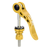 GUB Lengthened Bike Seat Post Quick Release Skewer - Golden (FSLV)