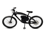 PHATMOTO™ Rover 2020 - 79cc Motorized Bicycle (Black)