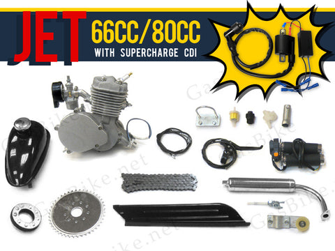 Jet 66cc/80cc Bicycle Engine Kit