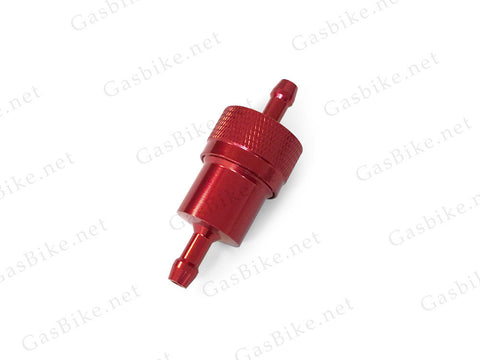 CNC Fuel Filter - Red