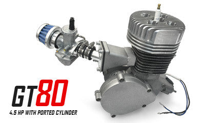 Gt80 Pro Racing Engine Only 66cc 80cc 4 5 Hp With Ported