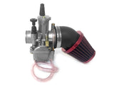 Dio Reed Valve Zeda Racing Cylinder and Carburetor Assembly - 66cc/80cc Gas Motorized Bike