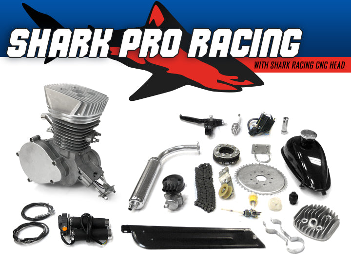 Collections kingsmotorbikes shark pro racing 66cc80cc bicycle engine kit solutioingenieria Choice Image