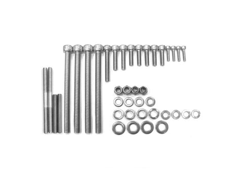 Stainless Steel Heavy Duty 66cc / 80cc Engine Screw Set Gas Motorized Bicyc