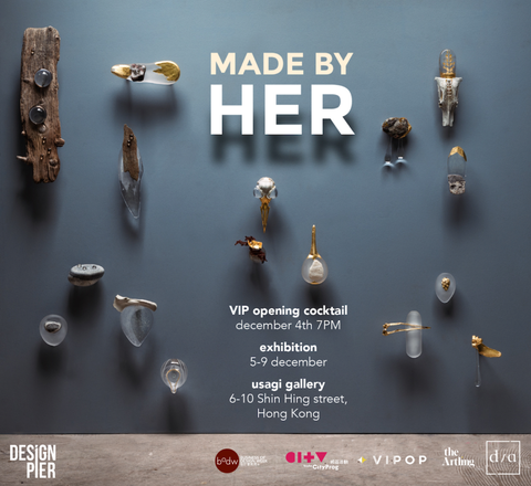 Project-J exhibited with Design Pier in an exhibition titled MADE BY HER