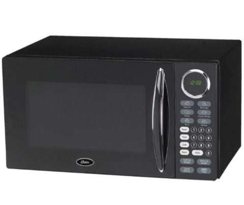 0.9 Cu. Ft. 900W Countertop Microwave with Removable Glass Turntable Black