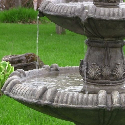 3 Tier Outdoor Electric Water Fountain
