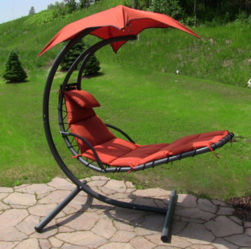 Floating Chaise Swing Chair Lounger