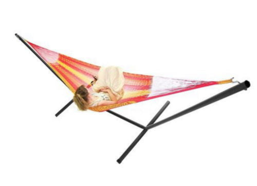 Double Mayan Hammock And Stand Combo