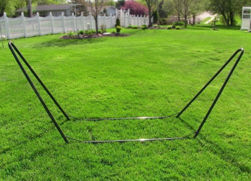 10 Foot Portable Camping Hammock Stand 8 Piece Assembly No Tools Required Steel