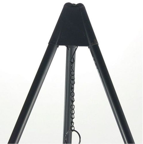 "Fire Pit Tripod Grilling Set W/ 19"" Cooking Grate"