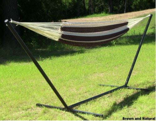 XXL Mayan Hammock With Stand