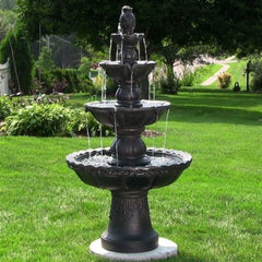 4 Tier Electric Water Fountain