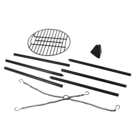 "Fire Pit Tripod Grill w/ 22"" Cooking Grate"