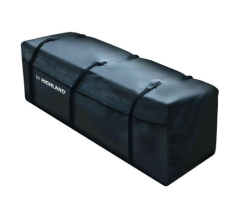 13 cu. ft. Rainproof Rooftop Cargo Bag Hitch Mounted Carrier with 6 Straps Black