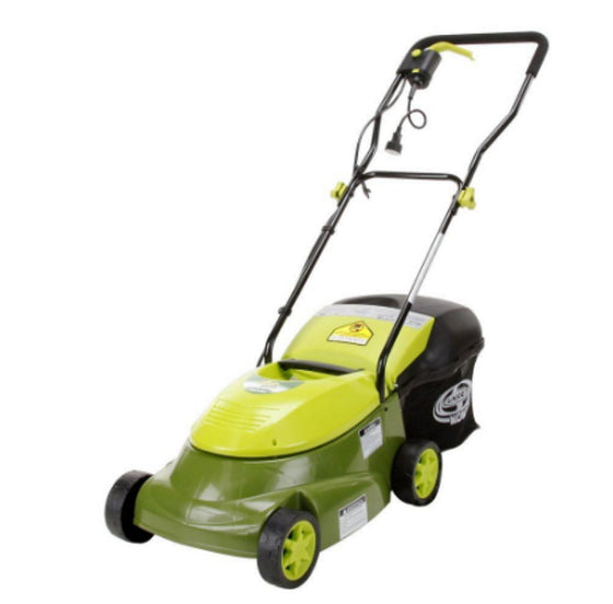 14 In. 12 Amp Lawn Mower Corded Electric 12 Amp Lightweight Maintenance Free