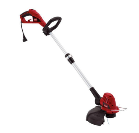 14 Inch 5 Amp Corded String Trimmer High Performance Aluminum Shaft Outdoor Use