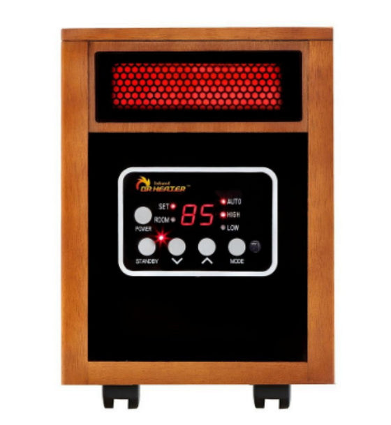 1500-Watt Infrared Portable Space Heater with Advanced Dual Heating System