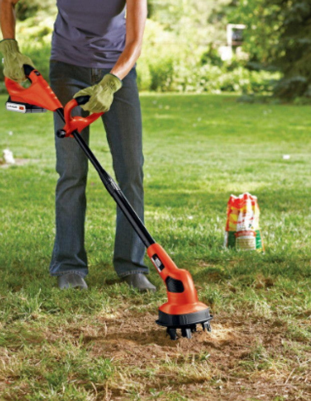 Black & Decker 20-Volt Lithium-Ion Garden Cultivator with Adjustable Handle