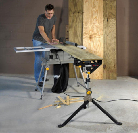 33 In. Jawstand XP Sawhorse Adjustable Portable Tool with Built-In Clamp New