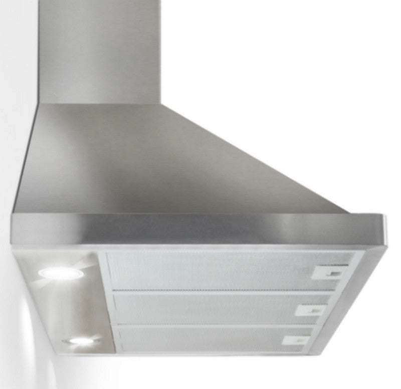 36-Inch 400 CFM Convertible Wall Mount Range Hood Stainless Steel Silver Finish