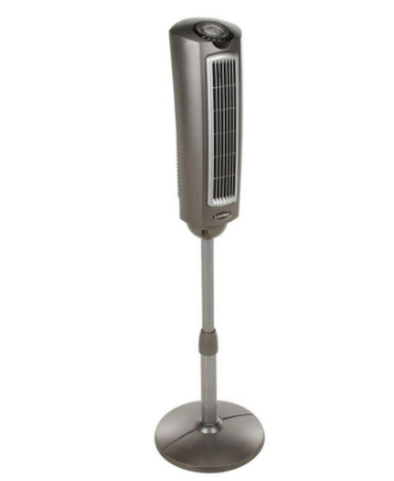 52 In. Space-Saving Oscillating Pedestal Fan 3-Speed with Remote Control