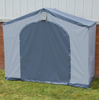 Image of 6 Ft. W x 2 Ft. D Portable Shed Portable Storage Unit Outdoor Garden Shed Gray