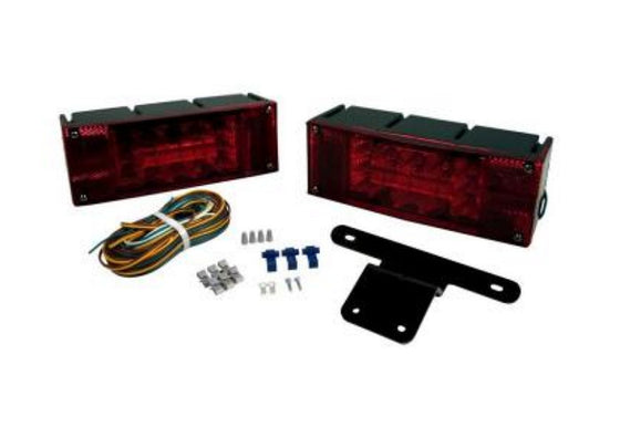 80 In. Blazer Low-Profile Submersible LED Trailer Light Kit with 7 Functions