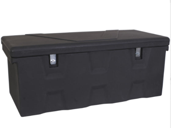All-Purpose Maintenance-Free Truck Box Durable Storage Box with Handle Black