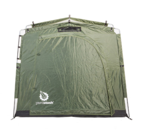 Portable Outdoor Shed Storage Unit Heavy-Duty Bike Cover Weather Resistant Green