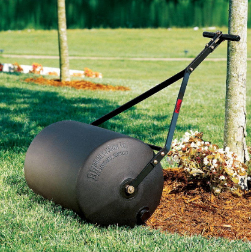 Brinly 18 in. x 24 in. Poly Lawn Roller Heavy Duty 270 lb. Outdoor Tool Use