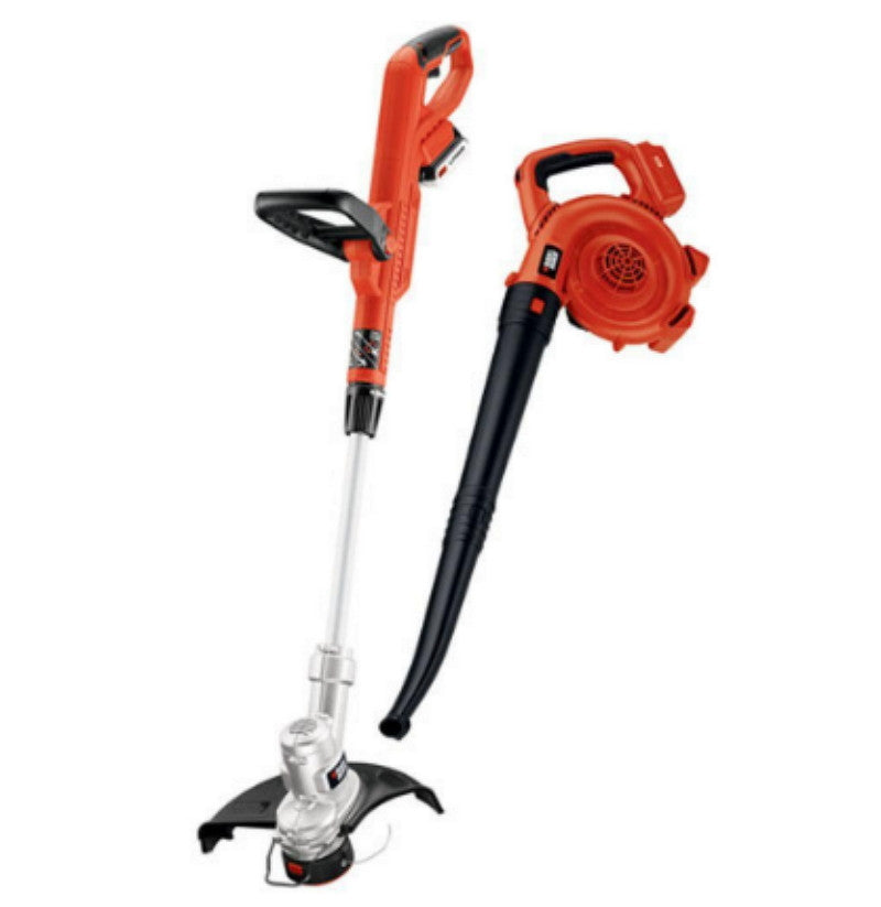 High Performance 20-Volt Max Lithium-Ion String Trimmer and Sweeper Combo Kit