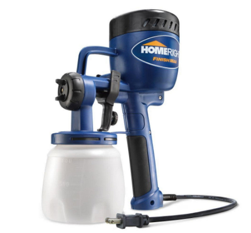HomeRight's Finish Max Adjustable Paint Sprayer with Brass Spray Needle