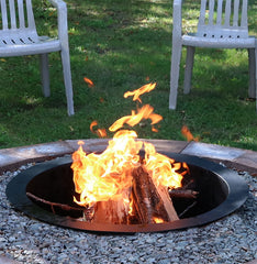 27 Inch Heavy Duty In-Ground Fire Pit Ring