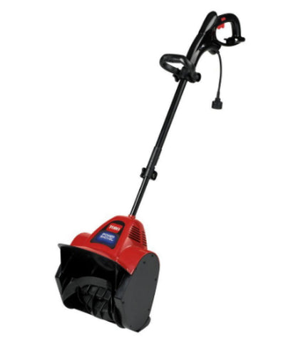 12 In. Electric Power Shovel Snow Blower 75-Amp Adjustable Handle