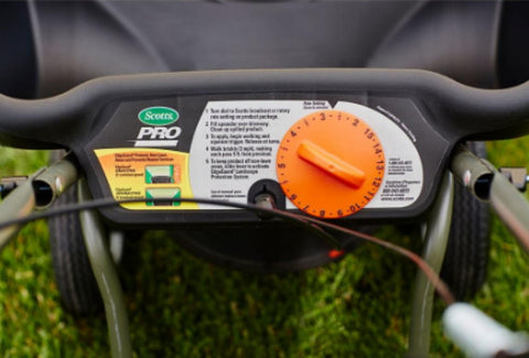 Pro EdgeGuard Broadcast Spreader 18,000 Sq. Ft. Outdoor Lawn Tool