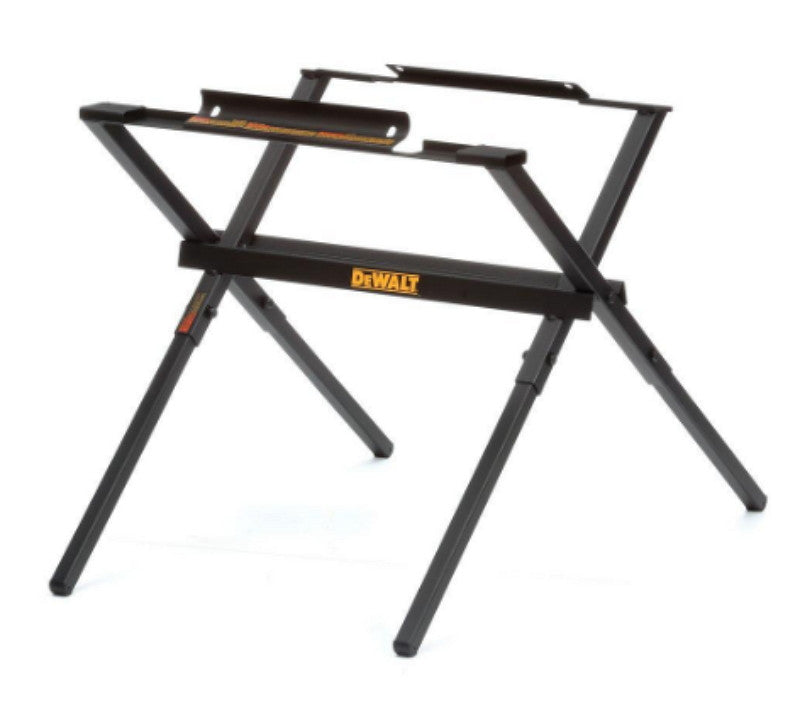 10 Inch Table Saw Stand Foldable Heavy Duty Support Bar Black