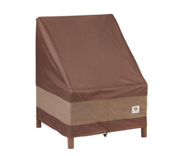 Ultimate 40 in. W Patio Chair Cover Waterproof Mocha Cappuccino Finish