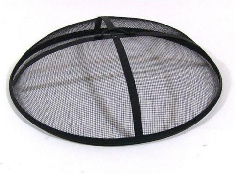 "19"" Round Fire Pit Spark Screen Cover"
