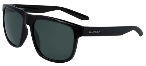 Dragon Sesh LL Polar Shiny Black 100% UV Sunglasses
