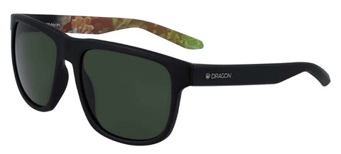 Dragon Sesh LL Matte Black Succulent 100% UV Sunglasses