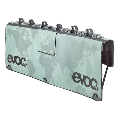 Evoc Pickup Tailgate Medium/Large Olive with Map Bike Pad