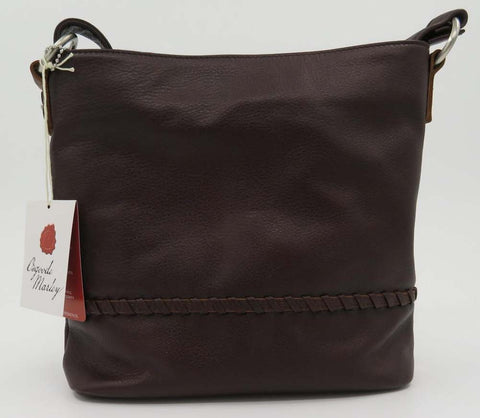 Osgoode Marley Espresso Keira Small Hobo with RFID Pocket Protection