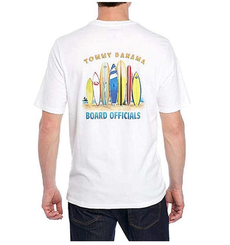 Tommy Bahama Board Officials Medium White T Shirt