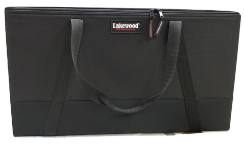 Lakewood Drop-in Crossbow Case Jr Black with Dual Compartment Storage